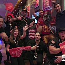 Super Bowl Party im Hard Rock Cafe Vienna