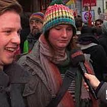 Großdemo gegen Regierung in Wien