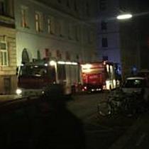 Küchenbrand in Wien-Landstraße