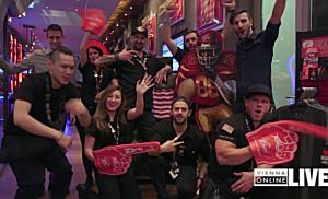 Super Bowl Party im Hard Rock Cafe Vienna