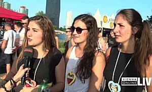 Der Samstag am Donauinselfest 2016