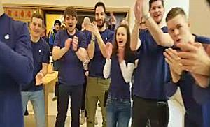 Erster Apple Store in Wien eröffnet Teil 1