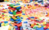 Bei der LEGO Ausstellung