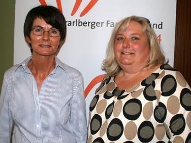 Inge Sulzer (l.) und Barbara Fessler leiten ein engagiertes Team.