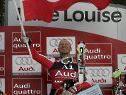 Hermann Maier ist über Triumph überglücklich