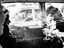 Boys Smoking in Car, Reform School, New York, 1963 von Charles Harbutt