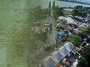 Fällt das Donauinselfest ins Wasser?