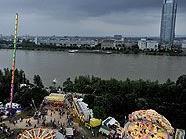 Gelände des Wiener Donauinselfestes