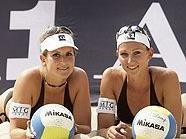Hoffnung im Sand: Cornelia Rimser und Magdalena Jirak