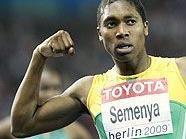 800-Meter-Weltmeisterin Caster Semenya