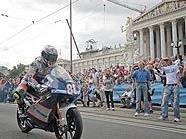 Am Ring ging's rund: MotoGP-Fahrer drehten eine Runde