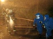 Chlorgasaustritt in Schwechat