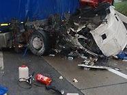 Lkw-Unfall auf der A 23