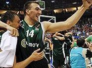 Starker Gegner: Nikola Pekovic gewann die Euroleague
