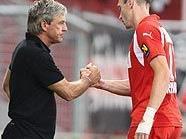 Admira: Walter Schachners Team erreichte das Cup-Achtelfinale