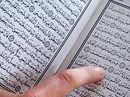 Der Koran war keineswegs ein Streitgrund.