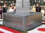 Hiroshima-Gedenkstein in Wien Ottakring