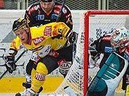 Linz-Goalie Alex Westlund ließ sich nur einmal bezwingen