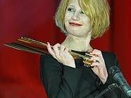 Birgit Minichmayr räumte bei der Nestroy-Gala ab