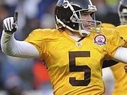 Broncos-Kicker Matt Prater fixierte den fünften Sieg in Folge