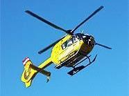 Das Kind wurde mit dem Hubschrauber ins Spital gebracht.
