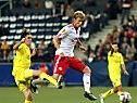 Der Stürmer ist angeschlagen vom Austria-Match