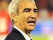 Frankreichs Teamchef Raymond Domenech