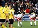 Hängende Köpfe bei Salzburg nach schwachem Spiel