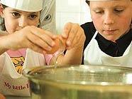 Kinder als Meisterköche im Wiener Hilton