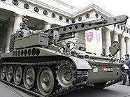 Panzer rollen durch Wien - Ankunft am Heldenplatz