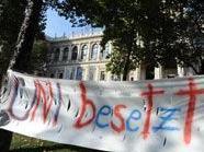 """Uni besetzt"" in Wien"