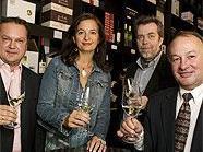 v.li.n.re.: Fritz Wieninger, StRin Mag.a Ulli Sima, Michael Mainardy und Herbert Schilling bei der Eröffnung.