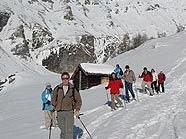 Schneeschuhwandern im Nationalpark
