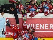 Schneider musste nach dem Check in Wien vom Eis