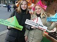Auftakt für die Wiener Volksbefragung 2010 am Silvesterpfad