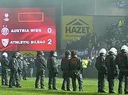 Austria arbeitet Skandalspiel gegen Bilbao auf