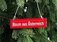 Bäume aus Plastik haben in Österreich keine Chance.