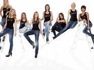 """Die """"Top-Acht"""" Kandidatinnen von """"Austria's next Topmodel"""""""