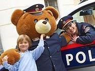 Kinderpolizeitag mit Kinderpolizeibär