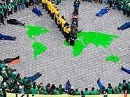 Stephansplatz: Die menschliche Uhr