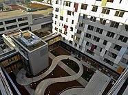 Teilansicht des neuen IKG Campus