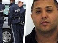 Beamte am Tatort / Verdächtiger Mihailo Jankovic