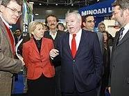 Bürgermeister Michael Häupl stattete der Messe einen Besuch ab
