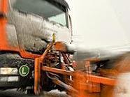 Der Winter hat Wien im Griff - Schneeräumdienst der MA48 unterwegs