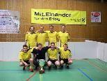 Der stolze Überraschungssieger FC Hörbranz.