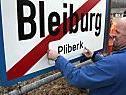 Kritik an hineinmontiertem Bleiburg-Schild