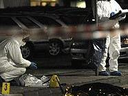 Spurensicherung untersucht Tatort in Wien-Leopoldstadt