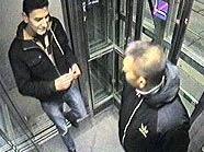 Bild einer Überwachungskamera zeigt die mutmaßlichen Täter