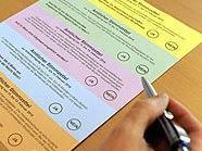 Der Stimmzettel für die Wiener Volksbefragung