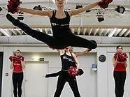 Die Milleniumdancers beim Training in Stadlau